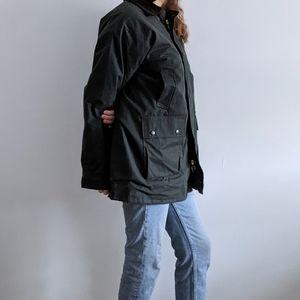 English Country Wax Chore Jacket